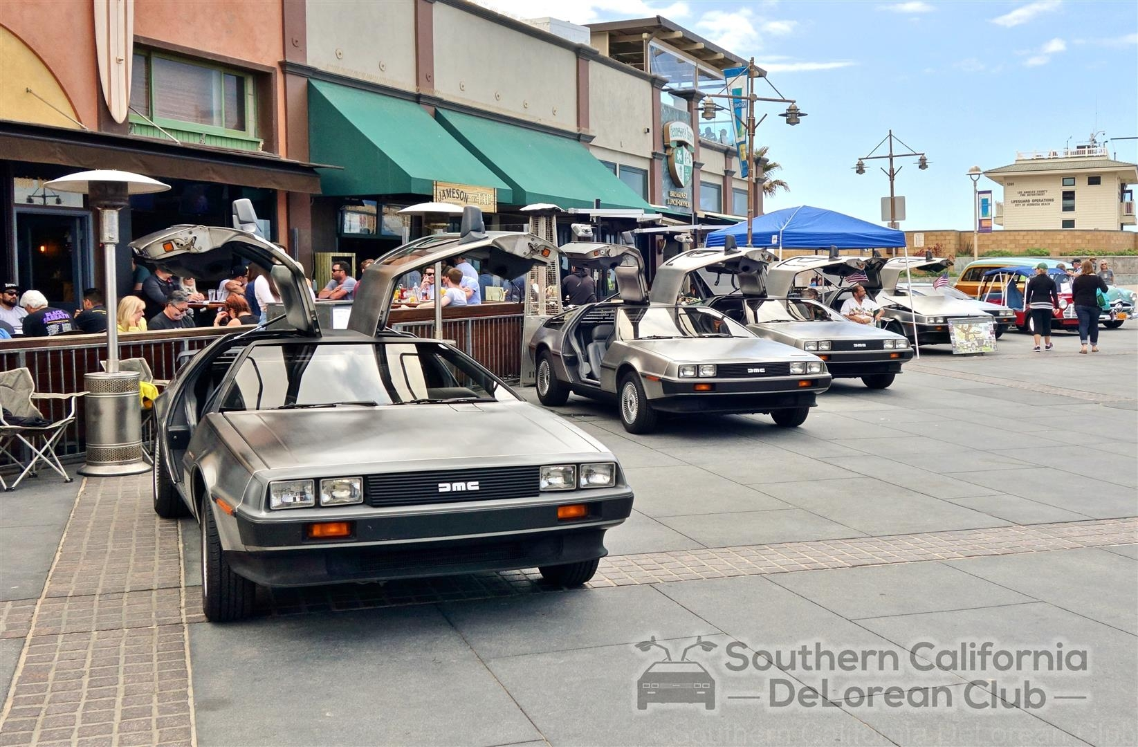 Endless Summer Classic Car Show DeLorean Club Southern - Classic car show california